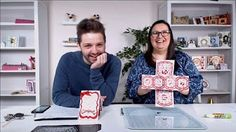 Option 2 Twist and Pop Card Less Paper, Less Measuring - YouTube