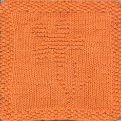 Flower Knit Dishcloth Pattern