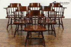 Oak Dining Room Chairs, Nichols And Stone, Comfortable Dining Chairs, Vintage Chairs, Midcentury Modern, Antique Furniture, Hardwood, Room Decor, Flooring