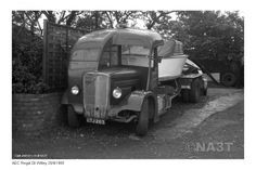 Displaying Central Garage_Great Witley_Arthur Moore & Sons_AEC Regal boat transporter reg GTJ 263_26 Sept 1965.jpg