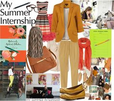 """My Summer Internship"" by fantasiegirl on Polyvore"