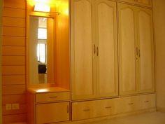 Image result for wardrobe design bedroom indian Wardrobe Design Bedroom, Interior Designing, Wardrobes, Danish, Bedroom Furniture, Tall Cabinet Storage, Bedroom Ideas, House Plans, Bedrooms