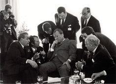 Leonid Breschnew, Willy Brandt, Bonn 1973, by Barbara Klemm