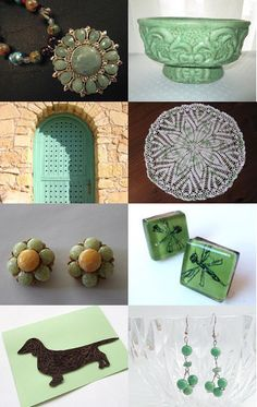 Cool Mint by Jeanne on Etsy--Pinned with TreasuryPin.com