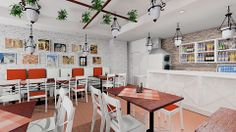 Italian restaurant / QQ Project.