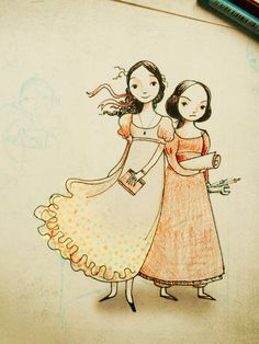 Ada & Mary from Wollstonecraft, by Jordan Stratford, picture by Claire Robertson