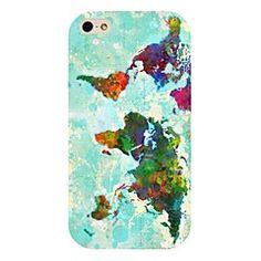 fargerik kart mønster tilbake tilfelle for iPhone 4 / Iphone 4, Phone Cases, Iphone 4s