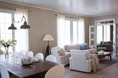 Vihervaara Dining Room, Dining Table, House Inside, Interior Decorating, House Ideas, Decor Ideas, Traditional, Sweet, Inspiration