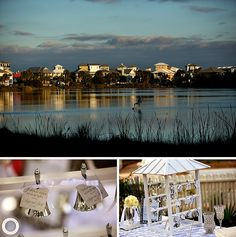 The lake after sunset Carillon 30A Wedding Photographer ®   Angie & Larry » Rae Leytham Photography