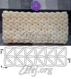 Snud the Asterisk pattern Crochet Style, A Hook, Crochet Fashion, Crochet Patterns, Knitting, Tricot, Crochet Pattern, Breien, Stricken