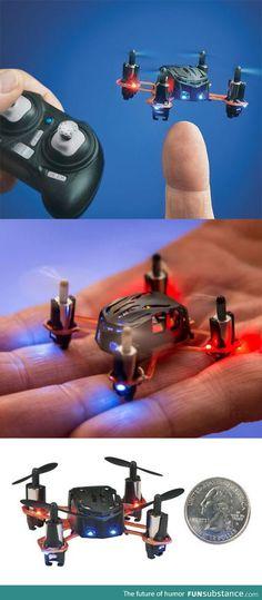 Nano Remote Control Quadrocopter/Drone