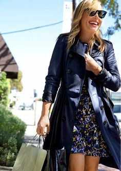 The Art of the Trench: How to Wear Burberry the L.A. Way via @WhoWhatWear