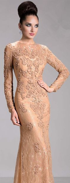 Gogerous Evening Dresses 2015 Long Sleeve Mermaid Appliquess High Neck Floor Length Zipper Spring Prom Dresses Long #babyonlinerdess #prom #lace