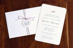 Phatt. design & letterpress - Convites de casamento.