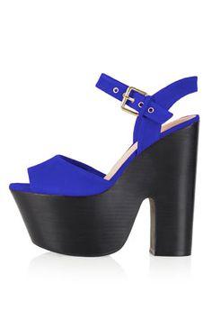LASSIE Ankle Strap Platforms