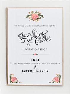 Wedding Invitations By Wedding Chicks
