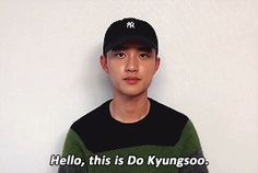 D.O gif #dokyungsoo #EXO