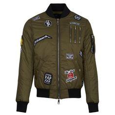 The New Designers - Bomber COOPER KAKI - http://www.atelierstore.fr/?product=the-new-designers-bomber-cooper-kaki