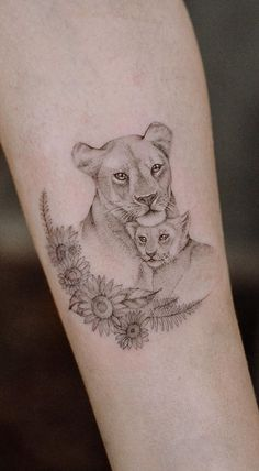 Baby Tattoos For Moms 342695852897959815 - Source by mafagafalifi Lioness And Cub Tattoo, Lion Cub Tattoo, Lioness Tattoo Design, Cubs Tattoo, Leo Lion Tattoos, Mother And Baby Tattoo, Mom Baby Tattoo, Tattoo For Son, Tattoos For Daughters