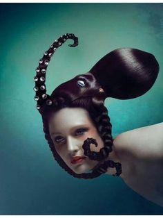 haha. hair octopus