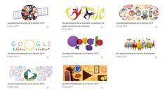 """Le doodle de Google parle enfin de """"Journée internationale des droits des femmes"""" et pas de la femme (et en plus c'est très beau)"""