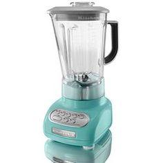 Dearest Husband of Mine...hint hint! martha stewart kitchenaid blender :) Love this color!!!