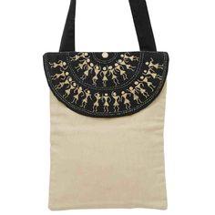 Warli Cotton Bag-1