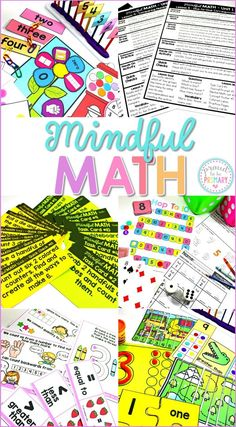 Mindful MATH Curriculum for First Grade is a COMPLETE, comprehensive math curriculum that includes 10 units to teach the concepts and standards first graders need to learn. Every unit is a jam-packed, mind-focused math curriculum that has EVERYTHING a teacher needs to teach math. Units include numbers to 10, numbers to 20, addition to 10, subtraction to 10, numbers to 120, addition to 20, subtraction to 20, geometry, fractions, money, time, measurement, 2D & 3D geometry, and graphing.