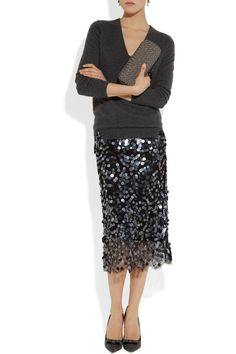 Skirt by Clements Ribeiro, Top by Joseph