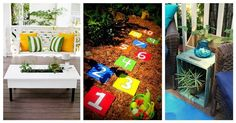 You will love these ideas to upgrade your patio and garden
