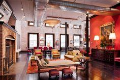 Tribeca NYC Loft Apartment | beautiful!!