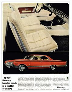 """1964 Mercury Park Lane with the """"Racy Marauder Styling"""" package"""