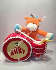 Drummer Baby Diaper Cake