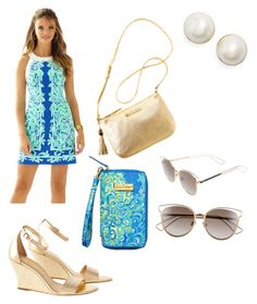 """""""Untitled #3"""" by amypavon on Polyvore featuring Kate Spade and Christian Dior"""