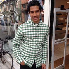 Skjorte#m paul#oxford sheck#shirt #hybridshopping #bergen