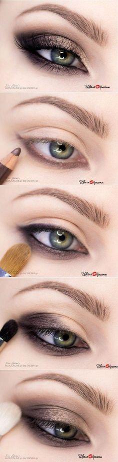 Делаем шикарный вечерний макияж / Школа красоты