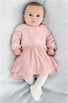 Buy Pink Butterfly Dress (0-18mths) from the Next UK online shop