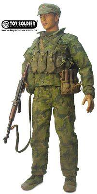 Toy Soldier PLA Recon Trooper Sino-Vietnam War 1979.