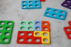 I'm always learning the handiest tips from my son's teacher. Last week when I met with her, she told me about Numicon and how it's her favourite tool for teaching maths to kids. So I rushed home from the school and ordered a set from Amazon.