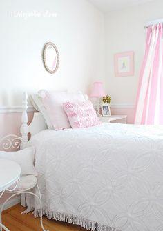Vintage Pink Little Girls Room