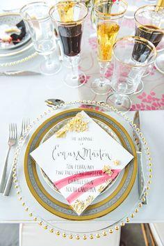 Bold + Gold Charleston Wedding Ideas