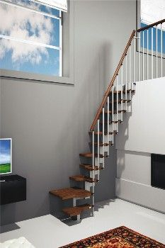 Mini Plus - escalera de tramo compacta | Misterstep