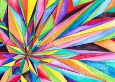 Diamond Burst by Amy Nelson Graduate Jobs, Home Decor Paintings, Abstract Paintings, Amy, Greeting Cards, Wall Art, Stars, Diamond, Colors