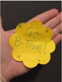 Show up. Build it brick by brick. Be the best B Team you can be. http://www.kadeecarder.com/blog/the-b-team #empower #girlsrule #inspire #bteam #sportsmetaphors