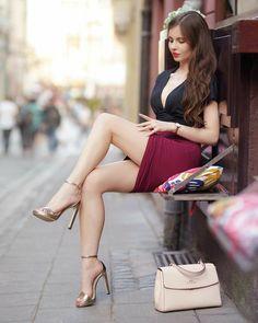 Great Legs, Nice Legs, Beautiful Legs, Gorgeous Women, Sexy Outfits, Sexy Dresses, Women Legs, Sexy Women, Idda Van Munster