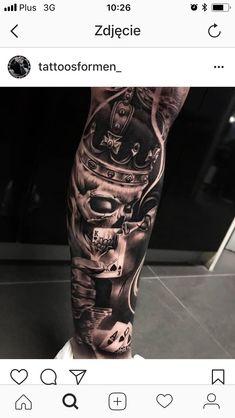 Cool Arm Tattoos, Badass Tattoos, Skull Tattoos, Word Tattoos, Leg Tattoos, Black Tattoos, Tattoos For Guys, Leg Sleeve Tattoo, Best Sleeve Tattoos