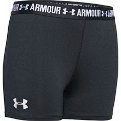 Rebel Sport - Under Armour Girls Armour 3 inch Short