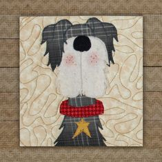 Schnauzer Precut Fused Applique Kit Precut Fused Kits The Whole Country Caboodle