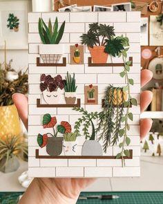 Paper plants by Raya Sader // paper art // paper sculpture Papier Diy, Paper Plants, Wedding Photo Booth, Plant Drawing, Photo Booth Backdrop, Photo Booths, Decoration, Paper Flowers, Backdrops