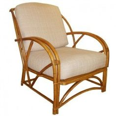 1930s bamboo chair